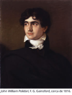 John William Polidori, F. G. Gainsford, cerca de 1816.
